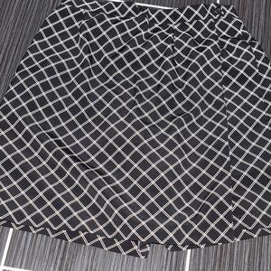 Liz Claiborne Golf Skort Black White Size 12
